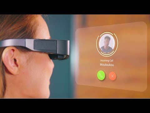 Top 5 Best Smart Glasses You Must Buy 2019 Futuristic Gadgets Youtube Smart Glasses Futuristic Technology Smart Glass
