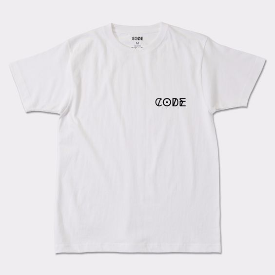 CODEのメンズ Tシャツ ONE