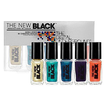 The New Black The Digital Underground by Christina Rinaldi: Shop Nail Sets | Sephora