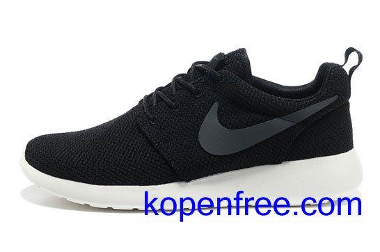 Kopen goedkope dames Nike Roshe Run Schoenen (kleur:flirt,binnen-zwart;
