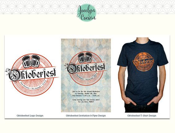 Oktoberfest Party Bundle // DIY Oktoberfest Invitations // DIY Oktoberfest // October Beer Fest Invites