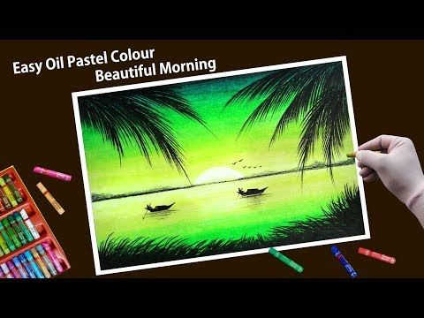 Morning Of Village Scenery Drawing With Oil Pastels For Beginners Youtube Oil Pastel Oil Pastel Colours Oil Pastel Art Subscribe for more awesome videos. oil pastel colours