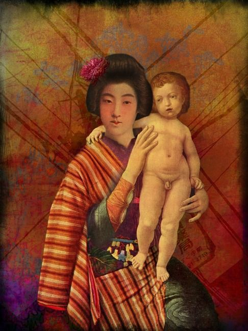 Mother and son | Catrin Welz-Stein