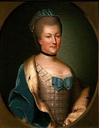 Caroline of the Palatinate-Zweibrücken (Henriette Caroline Christiane Louise; 9 March 1721 – 30 March 1774) was wife of the Landgrave of Hessen-Darmstadt and one of the most learned women of her time.
