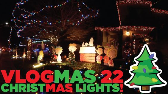 #VLOGMAS DAY 22 - CHRISTMAS LIGHTS on QUIVER POINT!!