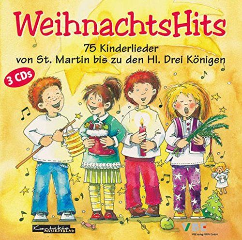 Weihnachtshits Weihnachtshits Kinder Lied Kinderlieder Buchlogo