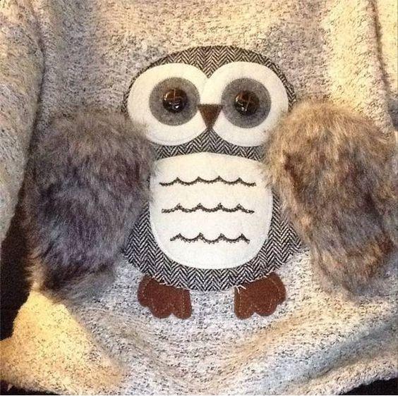 Owl Jumper