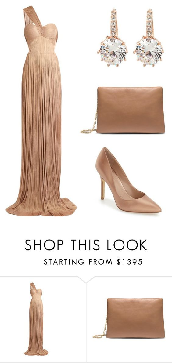 """""""Elegant and Regal"""" by fahey-dimaggio ❤ liked on Polyvore featuring beauty, Maria Lucia Hohan, Calvin Klein, Charles by Charles David and vintage"""