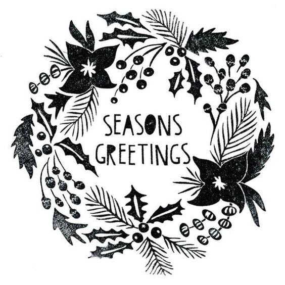 Ellen Hutson, LLC features Sizzix Framelits Dies w/ Stamps, Seasons Greetings by Tim Holtz.