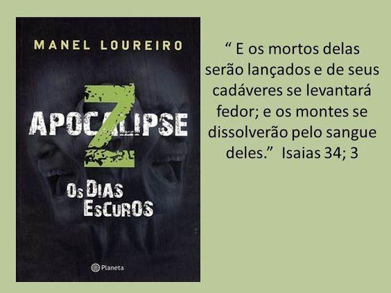 Other Site: Apocalipse Z: Os dias escuros - Manel Loureiro