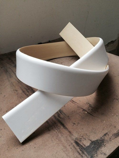 Flexible Baseboard Molding For Curved