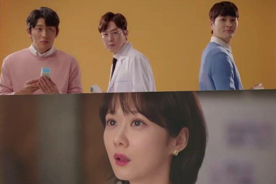 "Watch: Jang Nara Is In A Love Square With Go Joon, Park Byung Eun, And Jung Gun Joo In New ""Oh My Baby"" Teaser"