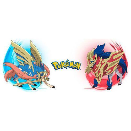 Pokemon Zamazenta And Zacian Mug Pokemon Mugs Manga
