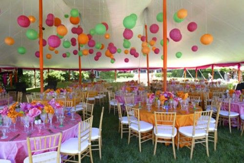 Love these colors for a baby shower