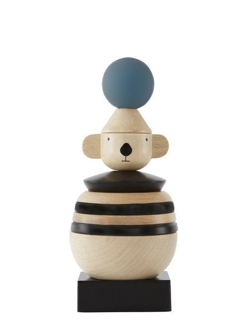 Wooden Stacking Koala Design By Oyoy Wooden Childrens Toys Stacking Toys Wooden