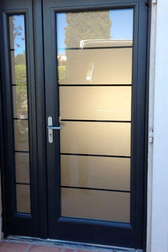 Window Glass Exterior Door Garage Door Sales Quote Architecture Metal In 2020 Exterior Doors With Glass House Front Door Contemporary Front Doors