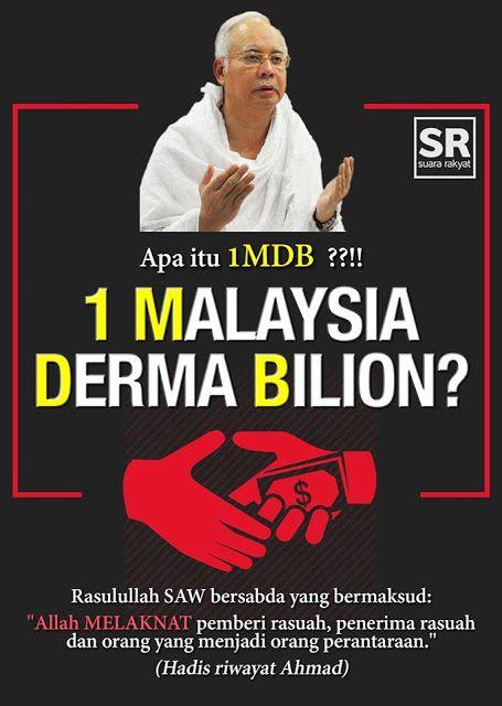 Derma Arab RM2.6 bilion kepada Najib Razak hanya 'bullshit' dan penipu besar - Berita internet hangat!