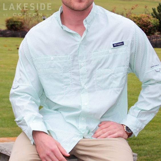 Men's PFG Super Tamiami Shirt by Columbia. Available at LakesideCotton.com!