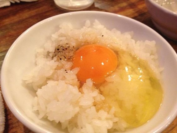 Another Yummy looking TKG (tamago kake gohan) Japan's traditional food