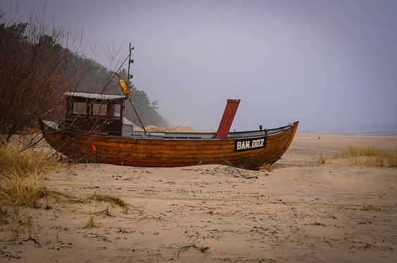 Beach of the Baltic Sea at Bansin / Usedom (Germany)