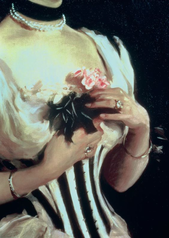 Great art from Art Authority for iPad: Mrs. Wilton Phipps (detail) by Sargent, John Singer