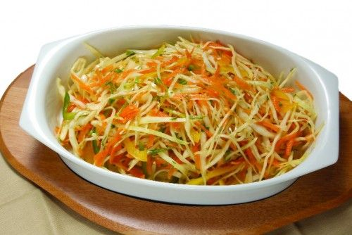 Салаты с капустой кольраби / Простые рецепты