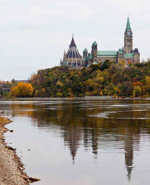 Parliament Hill, Ottawa  Fall 2011