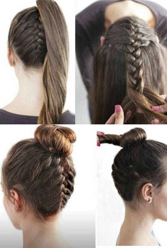 Hairstyles Diy And Tutorial For All Hair Lengths 156 Fashion Dressfitme Long Hair Styles Homecoming Hairstyles Diy Hairstyles