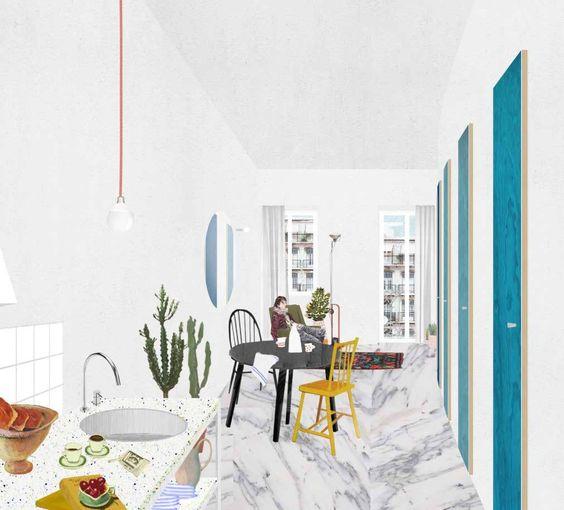 Fala Atelier Collage Architektur Collage Architektur