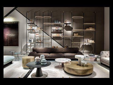 Baxter Italyanskaya Mebel Svetilniki Aksessuary Isaloni 2017 Youtube Furniture Design Home Interior Design Interior Design Shows