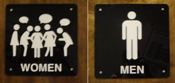 Another 12 of the Coolest Toilet Signs - ODDEE