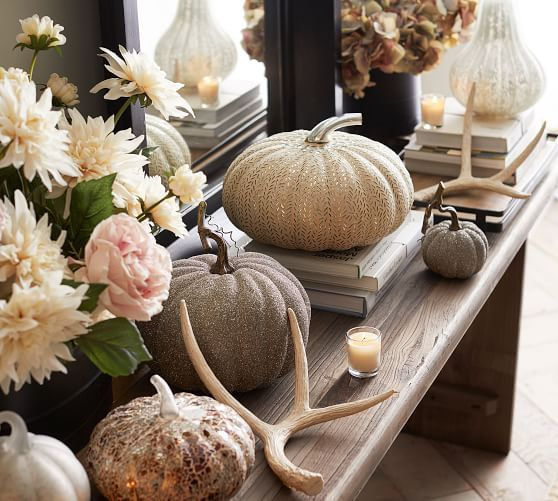 From Pottery Barn Fall Table Decor Fall Decor Pumpkin Pottery