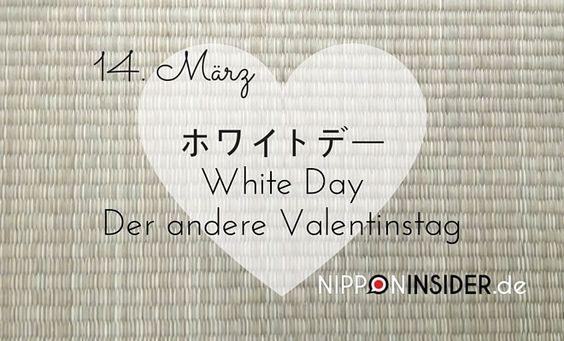White Day - der andere Valentinstag