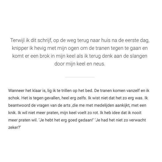 Blog over m'n eerste onderzoeksdag.  Het was vreselijk!  Je kan het lezen op stayhappy.nl by stayhappy.nl