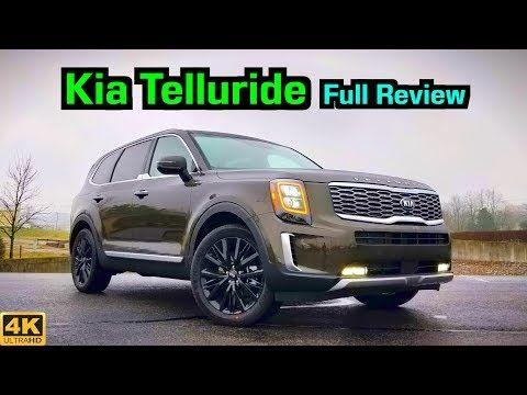2020 Kia Telluride Full Review Drive Kia Ko S The Competition Youtube Kia Car Town New Suv