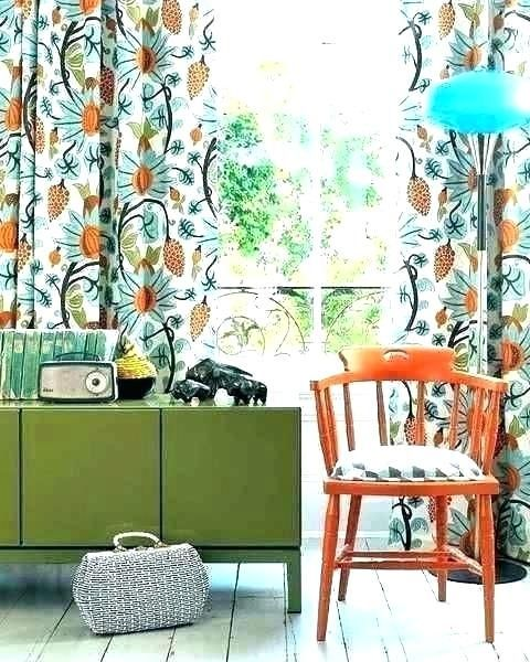 Orange Floral Curtains Mindhighco Orange And Teal Curtains Orange Teal Red Curta Curta