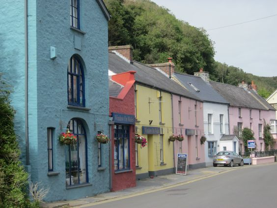 Solva, Pembrokeshire, Wales, UK - A pretty coastal village not far from St. Davids.
