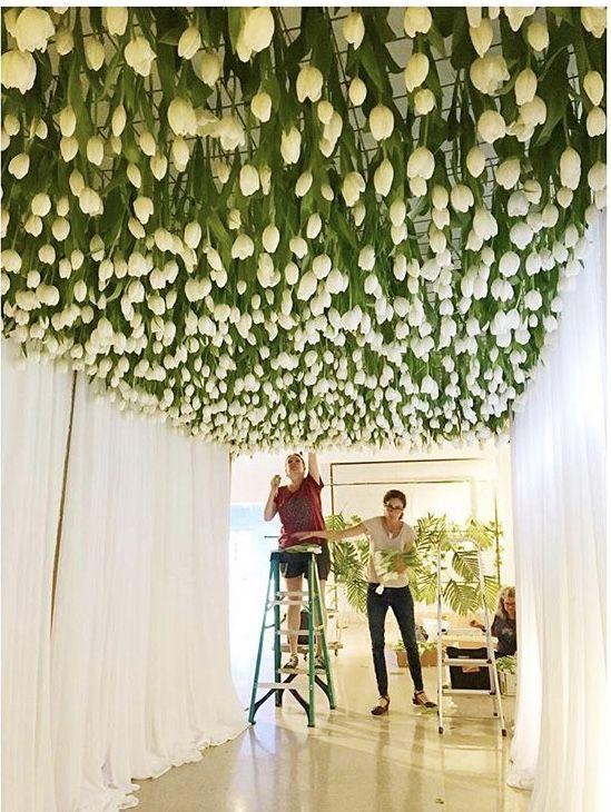 Posey Floral Event Design Austin Tx Tulip Wedding Decorations Tulip Wedding White Tulips Wedding