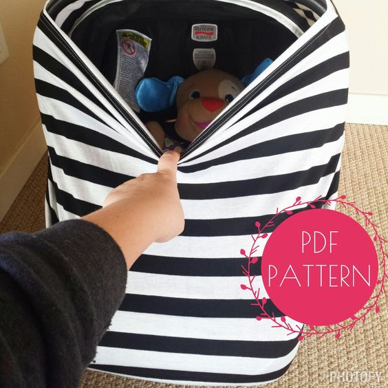 How To Make A Stretchy Car Seat Cover