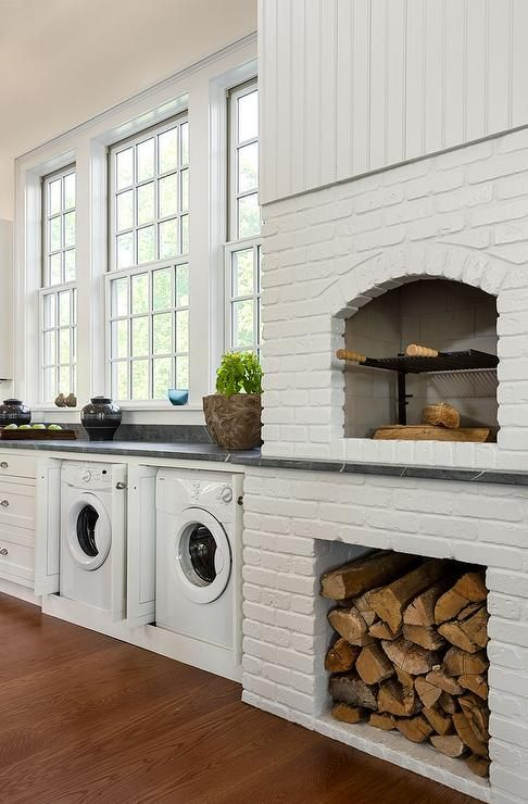 9 Inspiring Modern Rustic Laundry Rooms