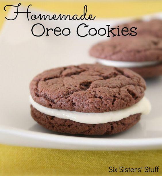 Easy Homemade Oreos #chocolates #sweet #yummy #delicious #food #chocolaterecipes #choco #chocolate