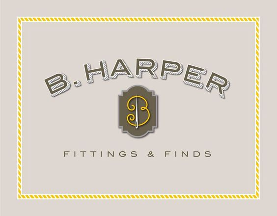 New logo for Bea Harper, by Alan Lidji