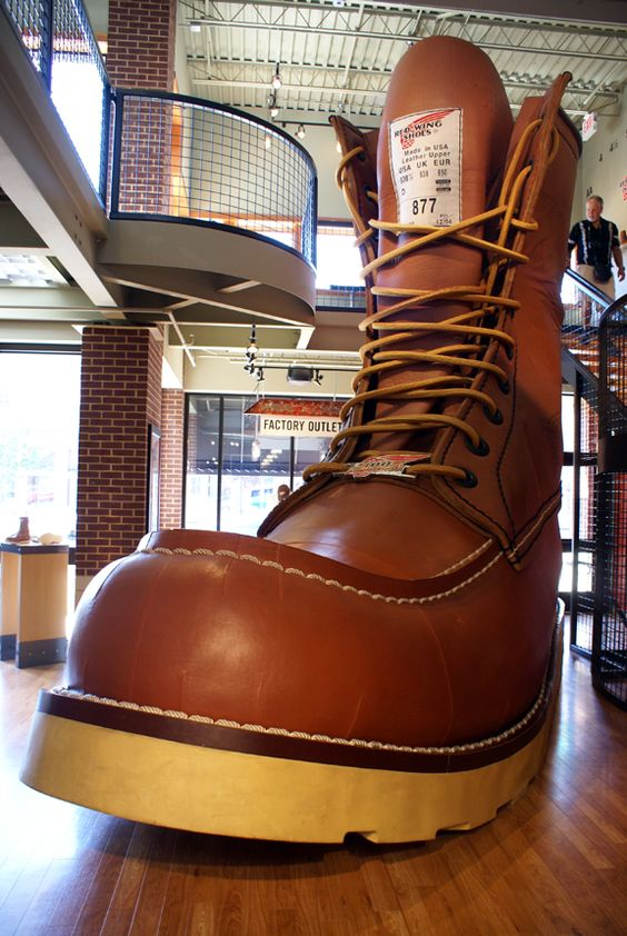 Worlds Largest Boot - Red Wing, MN
