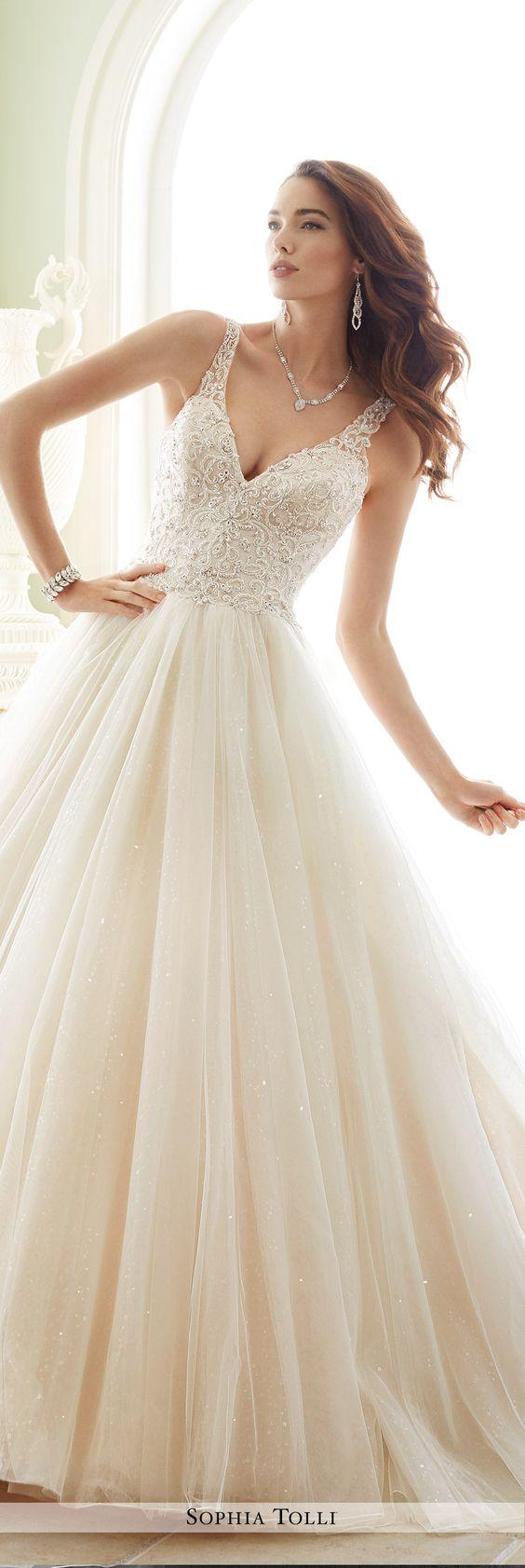 Y21673 maddalena sophia tolli wedding dress wedding for Sophia tulle wedding dress