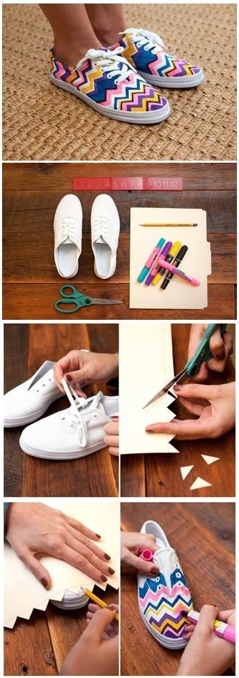 Diy : Missoni Sneakers
