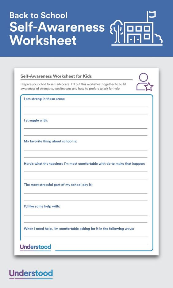 Printables Self Advocacy Worksheets download self awareness worksheet for kids powder to lose and its the first step toward help you need use sample below