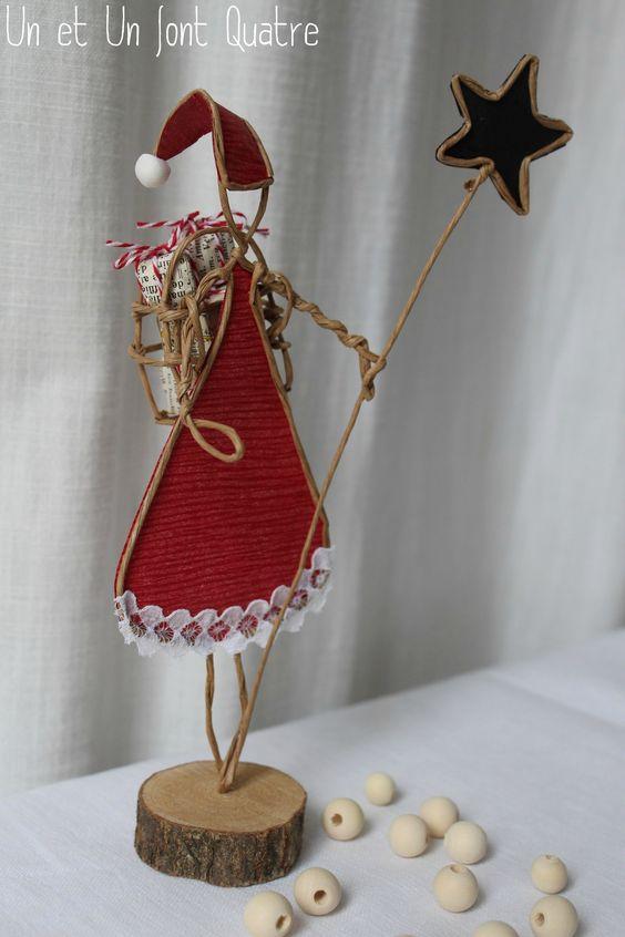 Mère Noël de papier (4)