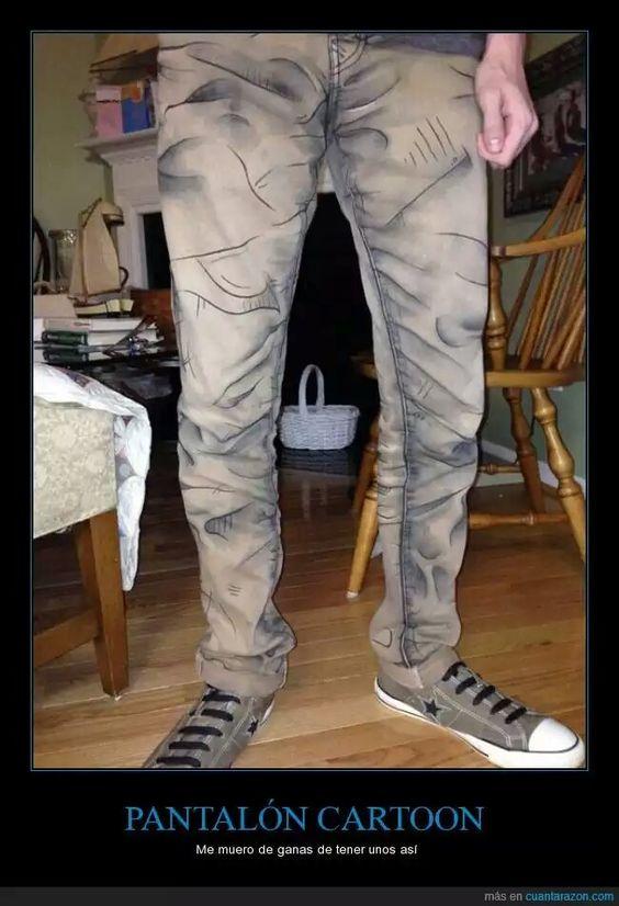 Pantalón de carton