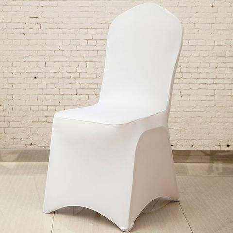 10050 Pieces Cheap Wholesale Universal White Chair Covers