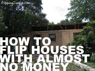 Learn how to flip houses with little to almost no money. Read about the 5 strategies available to you to buy houses to flip. Flipping houses is possible.